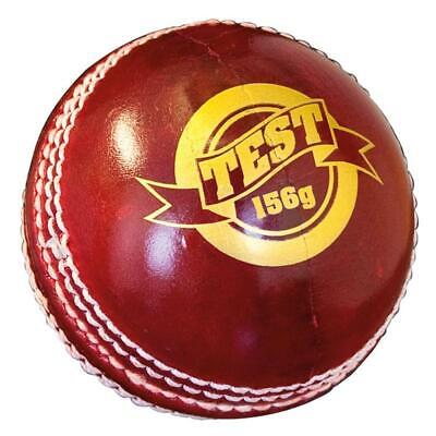 Hart Test 4 Piece Cricket Ball - 142G / 156G - Top Quality Leather Cricket Ball