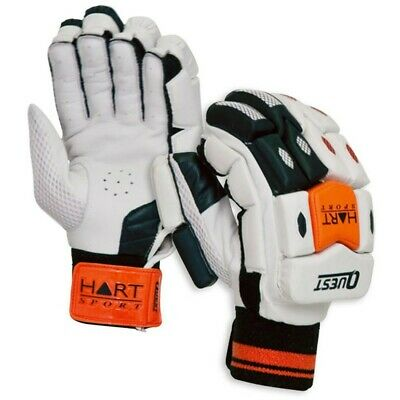 Hart Quest Cricket Batting Gloves - Calf Leather Palm