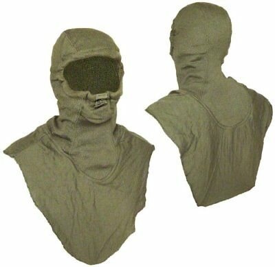 OD GREEN US ARMY COMBAT VEHICLE CREWMEN's COVERALLS Hood / Balaclava ONE SIZE