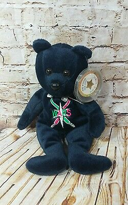 Blue A Star is Born #30 Star Wars George Lucas Celebrity Bean Plush Bear w Tag