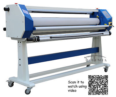 63In 1600mm Stand Frame Full-auto Single Side Wide Format Hot/Cold Laminator