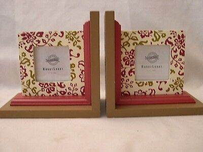 Wooden  Bookend Photo Frames