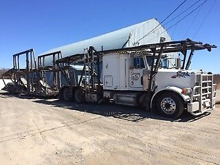 Car Carrier Peterbilt 379 C-15 cat warranty