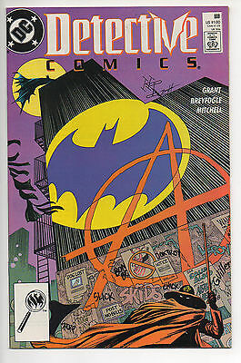 DETECTIVE #608  (1989)  First Appearance ANARKY , High Grade