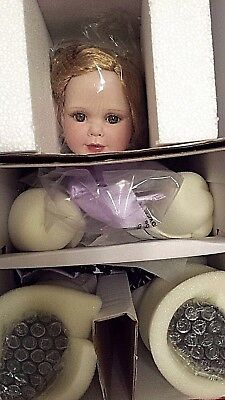 Marie Osmond Rose Marie Seated Porcelain Doll #775 Of 1,500 New In Box And Coa
