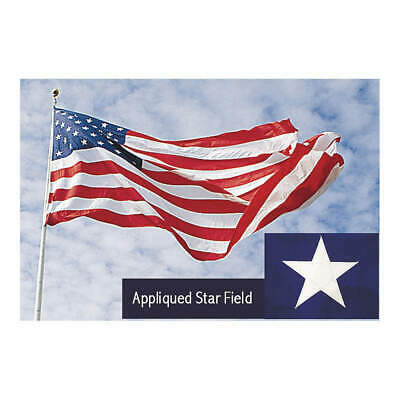 TOUGH-TEX US Flag,20x30 Ft,Polyester, 1674