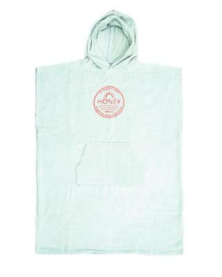 Ladies Hooded Poncho Towel In Mint From Ocean & Earth