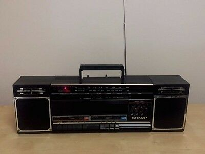Sharp Portable Stereo Component System / Boombox - Wf-340A(Bk)