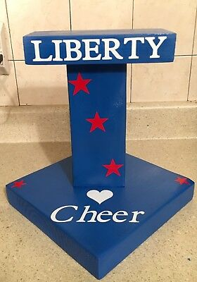 Cheer Stunt Flyer Stand, StuntIng Stand, Cheerleading Balance Stand Personalized