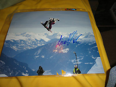Team Norway Snowboarder Lisa Wick Signed Autographed 8x10 COA