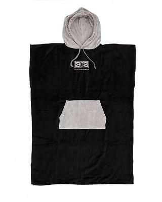 Mens Daybreak Hooded Poncho Towel - Grey From Ocean & Earth