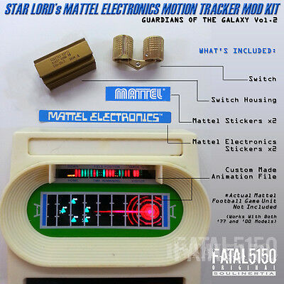 Mattel Electronics Classic Football KIT - Star Lord Guardians Galaxy baby groot