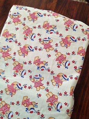 Brand New Hand Made Sailor Teddy Change Table Cover Mat Nappy Baby