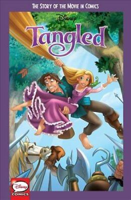 Disney Tangled: The Story of the Movie in Comics by Disney 9781772755275