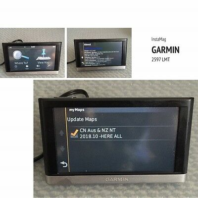 Garmin nuvi 2597LMT Automotive (Mountable) GPS in good condition. lifetime map
