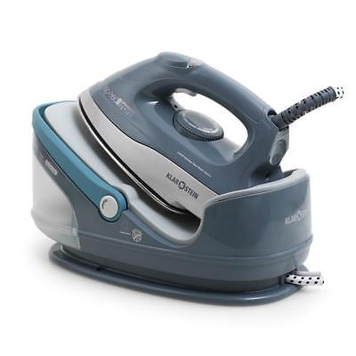 Pressurised Steam Spray Electric Iron 2400W 1.7 Litre Ironing Station Soleplate