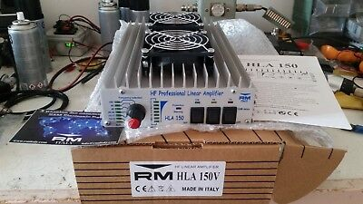 Amplificatore Hla150V Qrp 150W Con 5Watt In All Band All Mai Acceso Mai Usato