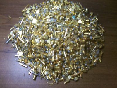 Lot of 2 Lbs High Quality Gold connectors and pins for Gold Scrap Recovery