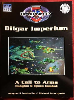 Babylon 5: A Call to Arms - Dilgar Imperium - Mongoose #3383 - NEW