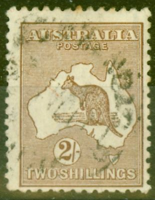 Australia 1916 2s Brown SG41 Fine Used