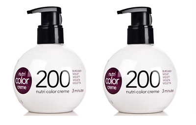 Revlon nutri color coloration capillaireCreme 200 Violet 270 ml x2