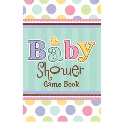 Tiny Bundle Baby Shower Game Book - 10 Baby Shower Games