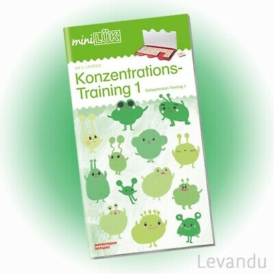 WESTERMANN mini LÜK Heft - Konzentrations-Training 1 (0318) - NEU
