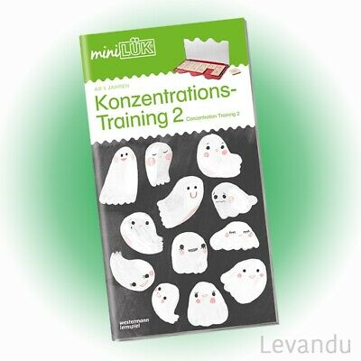 WESTERMANN mini LÜK Heft - Konzentrations-Training 2 (0319) - NEU