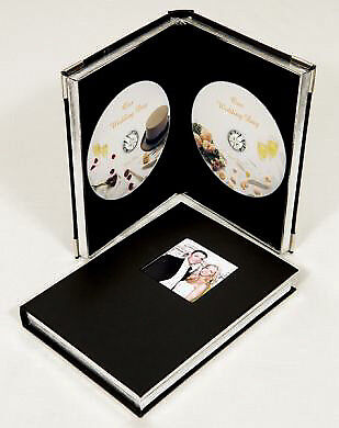 Wedding Double DVD/CD Case with Window
