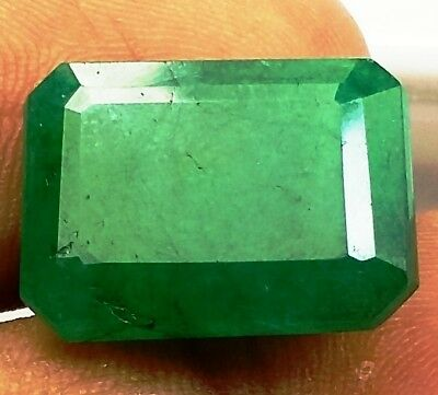 11.72 CT Colombian Emerald Natural GIE Certified Best Quality Beautiful Gems