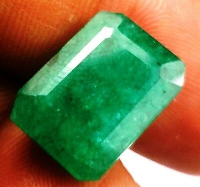 7.73 CT Emerald Natural Colombian GIE Certified Rare Quality Gorgeous Gemstone