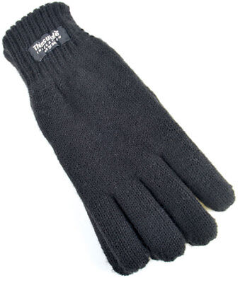 Boys/Girls Childrens - Knitted 40gram 3M Thinsulate Lined Winter Thermal Gloves