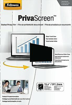 Fellowes PrivaScreen Privacy Filter 15.4-inch Widescreen 16:10