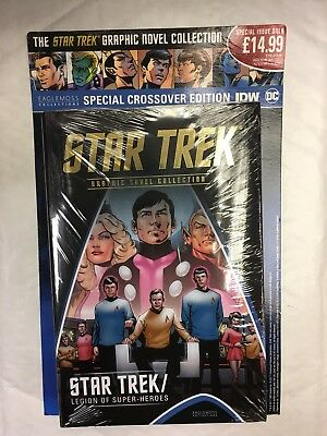 Idw Star Trek Graphic Novel Collection Special Issue Legions Of Super Heroes