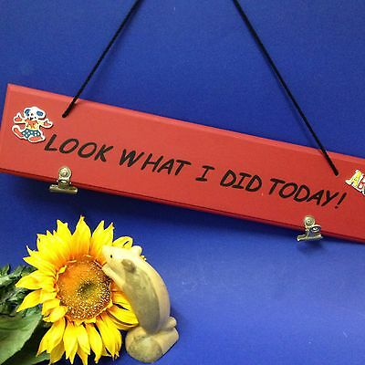 """""""Look What I Did Today""""  Clip Board - The Day's Achievements - Pre-Schoolers +++"""