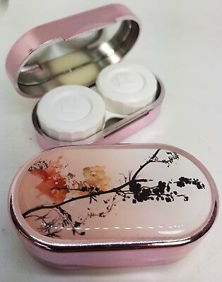Karine Faou Mirror Case Contact Lens Soaking Storage Case UK MADE - Oriental