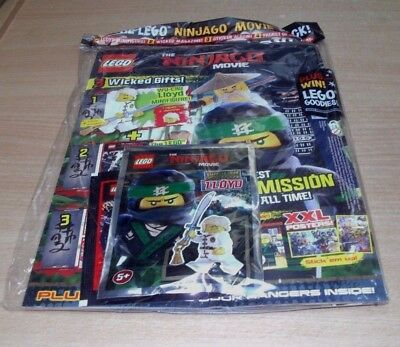 Lego Comic Specials magazine The Ninjago Movie Edition + Lloyd MiniFigure, Album