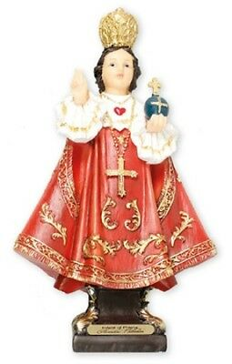 INFANT CHILD OF PRAGUE 125mm RESIN STATUE CRUCIFIXES CANDLES PICTURES LISTED 931