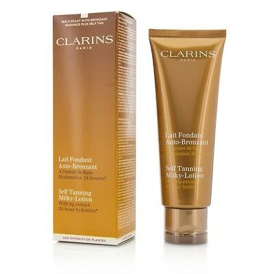 Clarins Self Tanning Milky-Lotion 125ml Sun Care & Bronzers