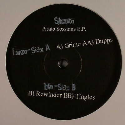 "Skepta ‎– Pirate Sessions EP (Only Limited Pressing) MASSIVE GRIME EP 12"" Vinyl"
