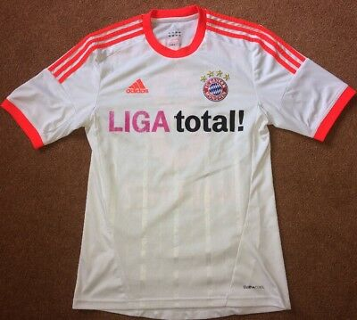 Small FC Bayern Munich Football Shirt Martinez Adidas