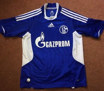 Small FC Bundesliga Schalke 04 Football Shirt Adidas