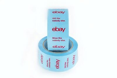 New! Holiday - Official eBay Branded BOPP Packaging Tape - Shipping Supplies