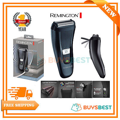 Remington Comfort Series Cordless Dual Foil Rechargeable Electric Shaver F7200