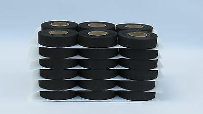"BLACK HOCKEY TAPE-1""x20yds. (36 rolls)"