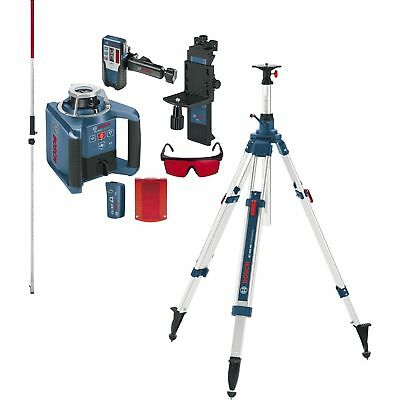 BOSCH Rotationslaser GRL 300 HV Set IP54 selbstnivellierend