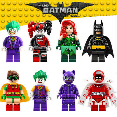 Harley Quinn Joker Robin Poison Ivy Catwoman Calendar Custom LEGO Batman Movie
