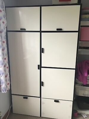 3 x ikea komplement complete wire basket drawers for pax. Black Bedroom Furniture Sets. Home Design Ideas