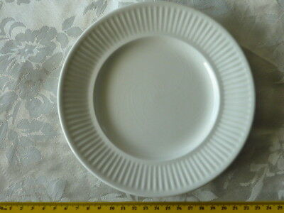 Johnson Australia White Fluted Side Plate 17 Cm Replacement Or Complete Your Set