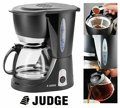 Judge 6cup/600L Electric Filter Coffee Maker with Glass Pot - 700W- JEA65